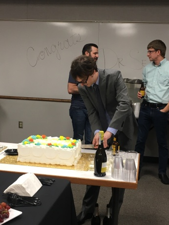 Congrats to Jim on a successful thesis defense!