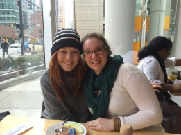 Kendall and Colleen in Chicago after the Fly Meeting.
